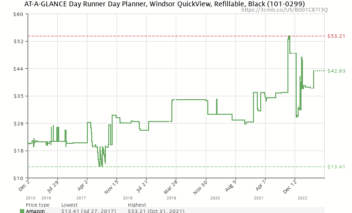 at a glance day runner day planner windsor quickview refillable